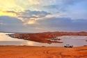 صور تظهر روعة بحيرة الكسر في السعودية