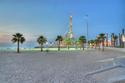 شاطئ مارينا في الكويت