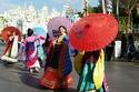 صور احتفالات الصينيين المبهرة باقتراب رأس السنة القمرية