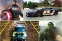 صور كيف سيكون شكل سيارات أبطال السينما الخارقين؟