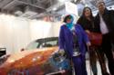 بالصور: رسامة سعودية تتلقى عروض لشراء سيارة ابتكرتها بمليون يورو