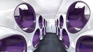 بالصور والفيديو : مقاعد جديدة للطائرات ستحدث ثورة في عالم الطيران
