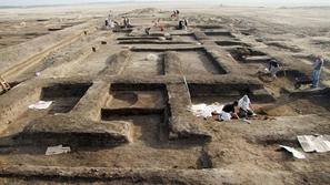اكتشاف مقر الجيش المصري في عصر الإمبراطورية الفرعونية