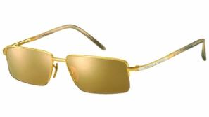 تشكيلة ذهبية من النظارات الشمسية الفاخرة للرجال من Porsche Design
