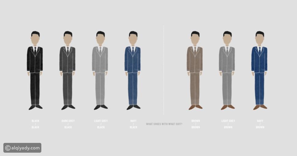 الأُسس التي يجب أن يتبعها الرجل عند اختيار اللباس الرسمي (البدلة)