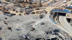 صور إزالة العقارات المحيطة بالمسجد النبوي لتوسعه الحرم