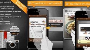 تطبيق جديد لترجمة أي نص بعد تصويره بكاميرا الهاتف