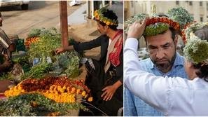 صور: أكاليل الزهور للرجال فقط.. أجمل عادات السعودية عبر الأجيال