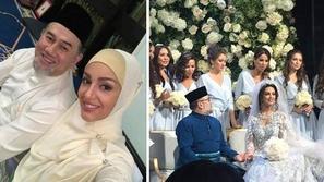 فيديو وصور:  بعد اعتناقها الإسلام.. ملكة جمال موسكو تتزوج ملك ماليزيا